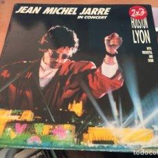 Discos de vinil: JEAN MICHEL JARRE (IN CONCERT HOUSTON LYON) LP ESPAÑA 1987 (VIN-A4). Lote 126714027