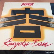 Discos de vinilo: ACCEPT (KAIZOKU BAN) LP ESPAÑA 1985 (VIN-A4). Lote 126715571