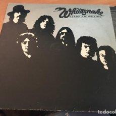 Discos de vinilo: WHITESNAKE (READY AN' WILLING) LP ESPAÑA 1980 PROMO (VIN-A4). Lote 126716051