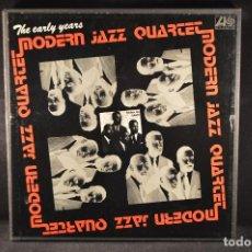 Discos de vinilo: THE MODERN JAZZ QUARTET - THE EARLY YEARS - 4 LP BOX SET. Lote 126716679