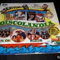 Discos de vinilo: DISCOLANDIA 2 LPS PARCHIS NINS ETC BUEN ESTADO PROMO. Lote 126722571