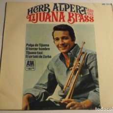Discos de vinilo: HERB ALPERT AND THE TIJUANA BRASS-EP. Lote 126730695