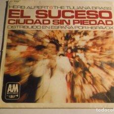 Discos de vinilo: HERB ALPERT AND THE TIJUANA BRASS-EL SUCESO . Lote 126734383