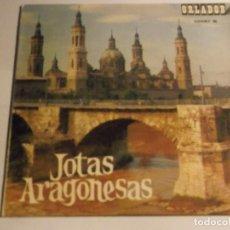Discos de vinilo: JOTAS ARAGONESAS. Lote 126737747