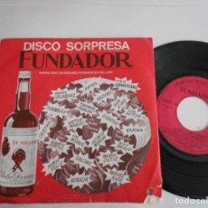 Discos de vinilo: DANIEL VELAZQUEZ-EP PALABRAS +3-FUNDADOR. Lote 126752219