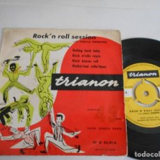 Discos de vinilo: JOHNNY HAWKINS-EP ROCK'N ROLL SESSION. Lote 126762143