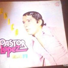 Discos de vinilo: PASTOR LOPEZ - UNICO LP COLOMBIA. Lote 126762227