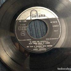 Discos de vinilo: 'EL ÁRBOL DEL AHORCADO', DE MARTY ROBBINS. FONTANA. 1960. EP 4 TEMAS. SÓLO DISCO, FUNDA NO.. Lote 126762523