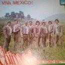 Discos de vinilo: LOS CHINACOS DE TOÑO MEDINA ?– VIVA MEXICO! LP HECHO EN EL SALVADOR 1980 . VINILO ROJO. Lote 126763015