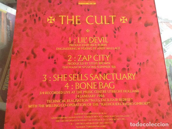 Discos de vinilo: THE CULT LIL´DEVIL - Foto 2 - 126772751