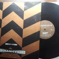 Discos de vinilo: MECHANICVILLE HIPPY AUDIO HAVOC. Lote 126779151