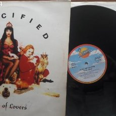 Discos de vinilo: ARMY OF LOVERS CRUCIFIED. Lote 126779883