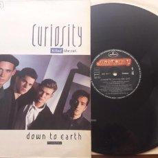 Discos de vinilo: CURIOSITY KILLED THE CAT DOWN TO EARTH. Lote 126789554