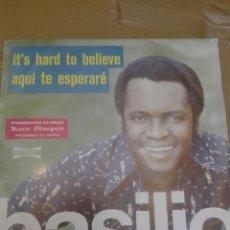 Discos de vinilo: DISCO VINILO SINGLE BASILIO. Lote 126789588