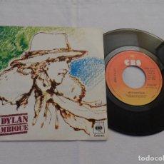 Discos de vinilo: BOB DYLAN - MOZAMBIQUE. Lote 126798439