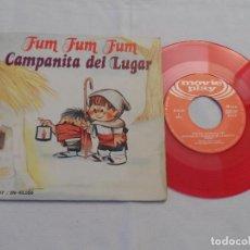 Discos de vinilo: ESCOLANIA DEL COLEGIO DE SAN ANTONIO MADRID -FUM FUM FUM . Lote 126798575