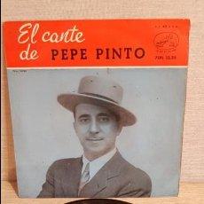 Discos de vinilo: EL CANTE DE PEPE PINTO / TRIGO LIMPIO / EP-LA VOZ DE SU AMO-1959 / MBC. ***/***. Lote 126806299