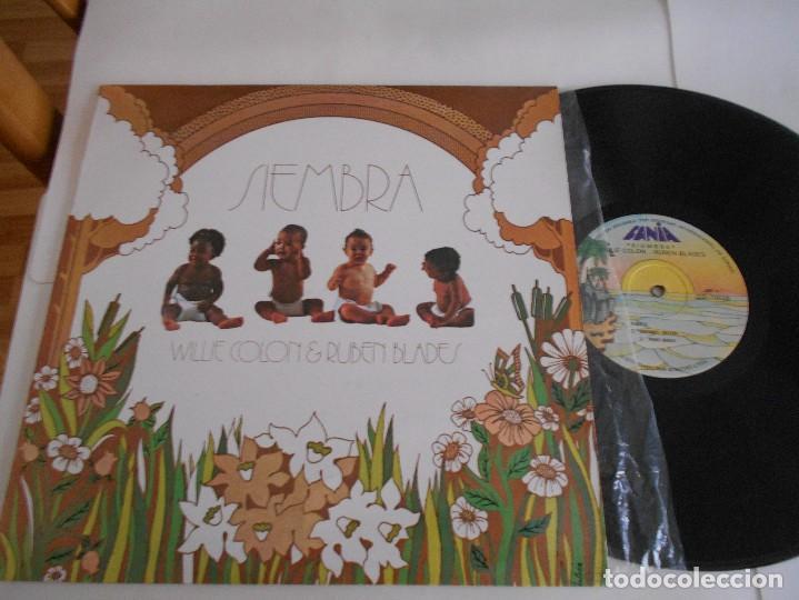 WILLIE COLON & RUBEN BLADES -LP SIEMBRA (Música - Discos - LP Vinilo - Grupos y Solistas de latinoamérica)