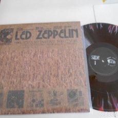 Discos de vinilo: LED ZEPPELIN-LP TEXAS INTERNATIONAL POP FESTIVAL-31 AUGUST 1969-MULTICOLOR. Lote 126818919