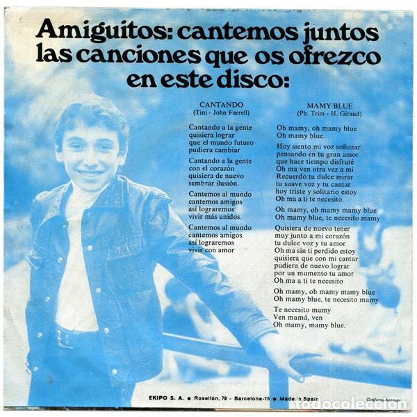 Discos de vinilo: El Pequeño Tim ?– Mamy Blue (ed.: España, 1971) - Foto 2 - 126828115