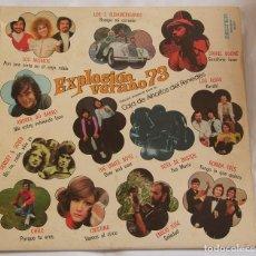 Discos de vinilo: EXPLOSIÓN VERANO 73 .. - 1973 - BELTER - VARIOS ..LOS ALBAS, RUMBA TRES, JAMES BOYS ..ETC. Lote 126851167
