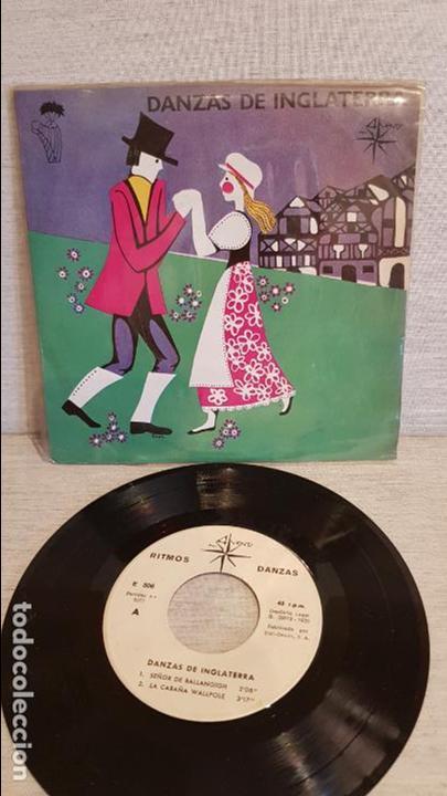 DANZAS DE INGLATERRA / EP - ALS 4 VENTS - 1970 / MBC. ***/*** (Música - Discos de Vinilo - EPs - Country y Folk)