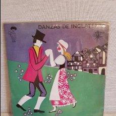 Discos de vinilo: DANZAS DE INGLATERRA / EP - ALS 4 VENTS - 1970 / MBC. ***/***. Lote 126865295