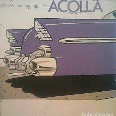 Discos de vinilo: ACOLLA: TRISTE CARRETERA + EL AVIADOR. Lote 126865447