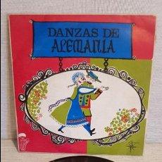 Discos de vinilo: DANZAS DE ALEMANIA / EP - ALS 4 VENTS - 1969 / MBC. ***/***. Lote 126867455
