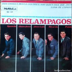 Discos de vinilo: LOS RELAMPAGOS. DOS CRUCES. EP 4 CANCIONES.. Lote 126869455