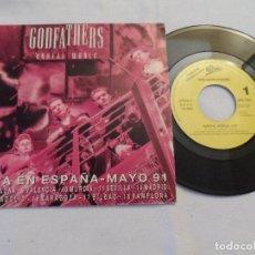 Discos de vinilo: GODFATHERS - THE UNREAL WORLD (PROMOCIONAL). Lote 126871223