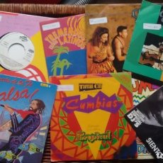 Discos de vinilo: LOTE DE 10 SINGLES (VINILO) DE SALSA . Lote 126871727