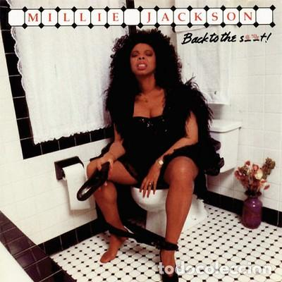 MILLIE JACKSON - BACK TO THE S..T! - JIVE 1186-1-J - 1989 - EDICION USA - PORTADA MÍTICA - PORNOFUNK (Música - Discos - LP Vinilo - Funk, Soul y Black Music)