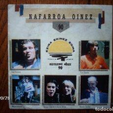 Discos de vinilo: NAFARROA OINEZ 90 - OSKORRI ETA LAGUNAK - IÑAKI PERURENA+ CUCO ZIGANDA + MIGUEL INDURAIN +.... Lote 126898251