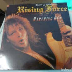 Discos de vinilo: YNGWIE J. MALMSTEEN - MARCHING OUT. Lote 126909307