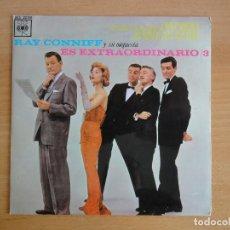 Discos de vinilo: RAY CONNIFF Y SU ORQUESTA. EP EXTRAORDINARIO VOL 3 (CBS 1963). Lote 126939883