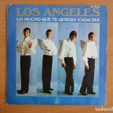 Discos de vinilo: SINGLE LOS ANGELES. CADA DIA (HISPA VOX 1969). Lote 126940427