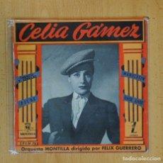 Discos de vinilo: CELIA GAMEZ - TABACO Y CERILLAS + 3 - EP. Lote 126957026