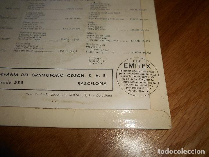Discos de vinilo: EP THE BEATLES EDITADO EN ESPAÑA NOWHERE MAN-THINK FOR YOURSELF-IF I NEEDED SOMEONE- GIRL - Foto 3 - 126959635