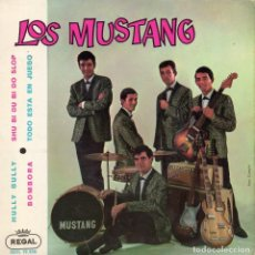 Discos de vinilo: MUSTANG, EP, HULLY GULLY + 3, AÑO 1963. Lote 126962691