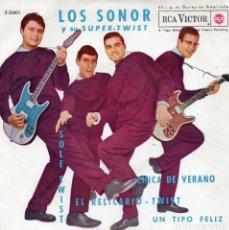 Discos de vinilo: SONOR, EP, SOLE-TWIST + 3, AÑO 1962. Lote 126963079