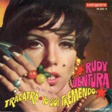 Dischi in vinile: RUDY VENTURA, SG, TRACATRA + 1, AÑO 1969. Lote 126967823