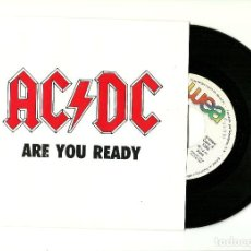Discos de vinilo: AC/DC. ARE YOU READY (VINILO SINGLE PROMO 1990). Lote 126991203