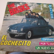 Discos de vinilo: THE BRISKS EL COCHECITO - EP. Lote 127009703