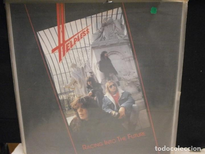 LP. HELPLESS - RACING INTO THE FUTURE TRC 0008 (Música - Discos - LP Vinilo - Heavy - Metal)