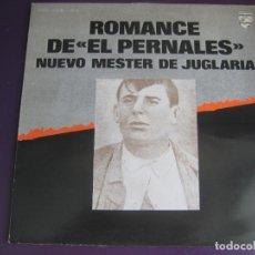 Disques de vinyle: NUEVO MESTER DE JUGLARIA LP PHILIPS 1979 - ROMANCE DE EL PERNALES - NUEVO FOLK - . Lote 127039475