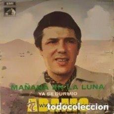 Discos de vinilo: ADAMO– MAÑANA EN LA LUNA - SINGLE SPAIN 1969. Lote 127057679