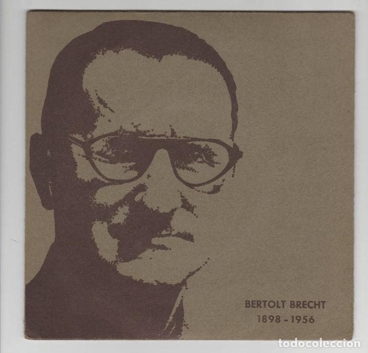 SINGLE VINILO DISCO BERTOLT BRECHT (Música - Discos - Singles Vinilo - Cantautores Internacionales)