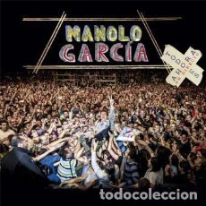 Discos de vinilo: MANOLO GARCIA - TODO ES AHORA (DIRECTO) - 4 VINILOS - A ESTRENAR. Lote 127092539