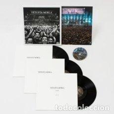 Discos de vinilo: VETUSTA MORLA - 15151 - TRIPLE VINILO + DVD - EDICION LIMITADA - A ESTRENAR. Lote 190530295
